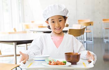 写真:学校給食